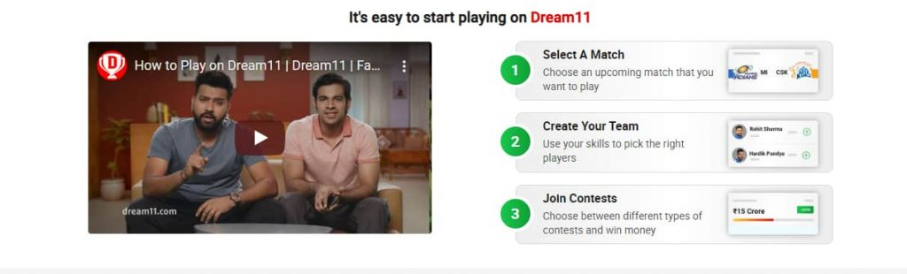 Dream11 se paise kaise kamaye